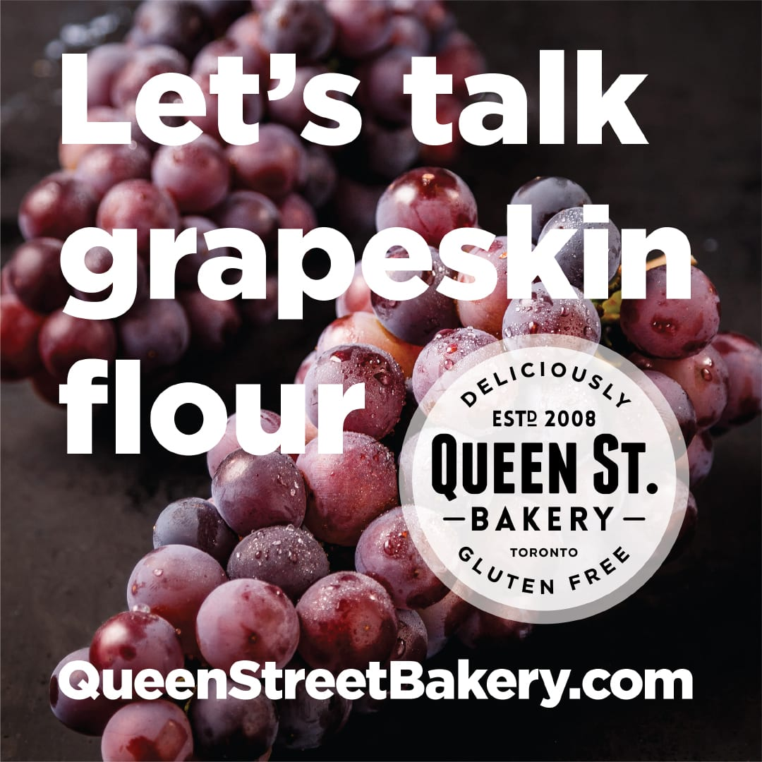 Let's talk grapeskin flour