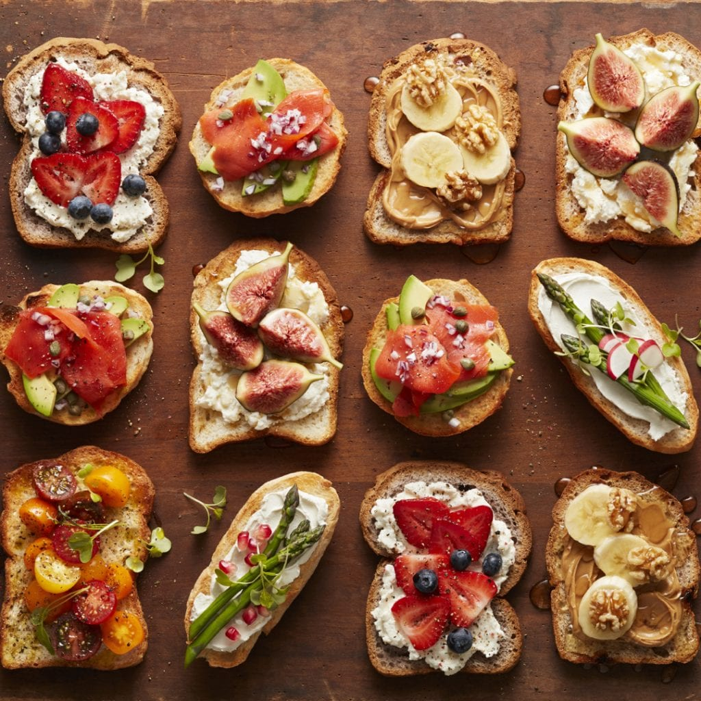 QSB Appetizers and sandwich ideas