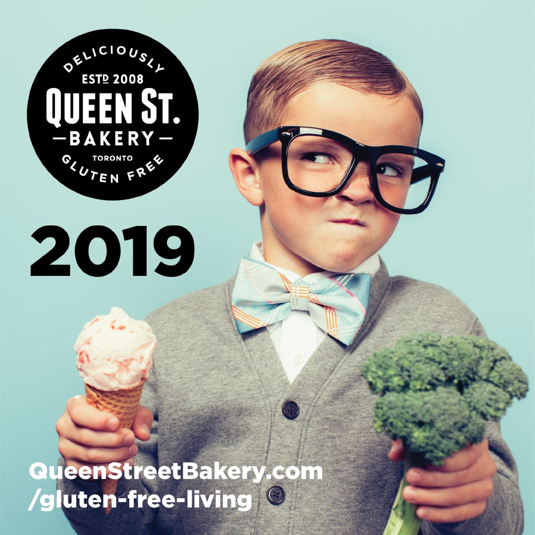 Queen Street Bakery - choosing between ice cream & broccoli