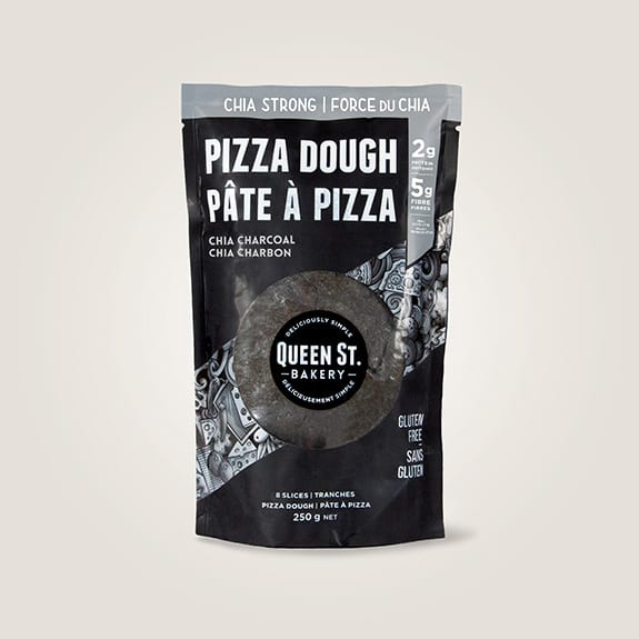 Charcoal Pizza Dough Package - Plant based