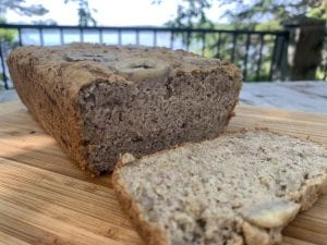Banana Bread for All (Vegan, Sugar and Gluten Free)