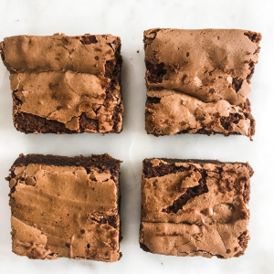 The Best Gluten-Free Brownies (Fudgy Middle, Crispy Top)
