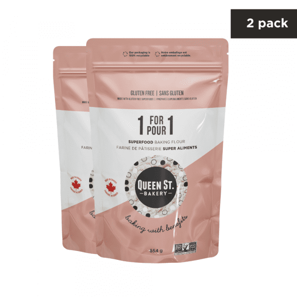 1-for-1 Superfood Baking Flour – Sample pack of 2