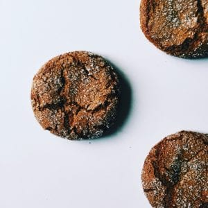 Ginger Snaps (Gluten-Free, Dairy-Free)