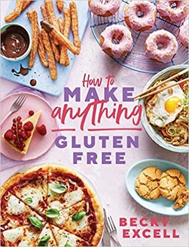 how to make anything gluten free cookbook